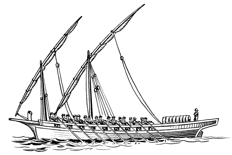 http://commons.wikimedia.org/wiki/File:Felucca_%28PSF%29.png